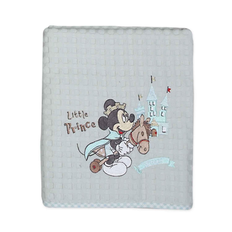 Κουβέρτα Πικέ Mickey Prince Ciel Nef-Nef ΑΓΚΑΛΙΑΣ 110x150cm