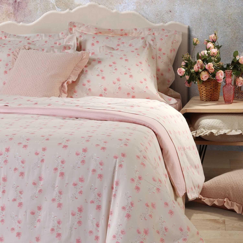 Πάπλωμα Petunia Pink Nef-Nef Υπέρδιπλo 240x230cm