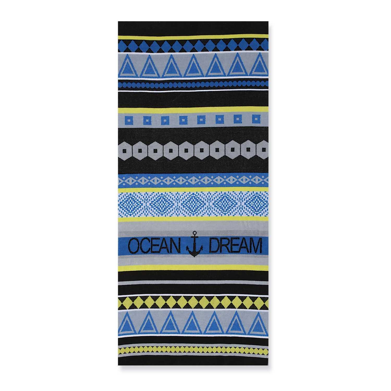 Πετσέτα Θαλάσσης Ocean Dream Multi-Ciel Nef-Nef Θαλάσσης 80x160cm