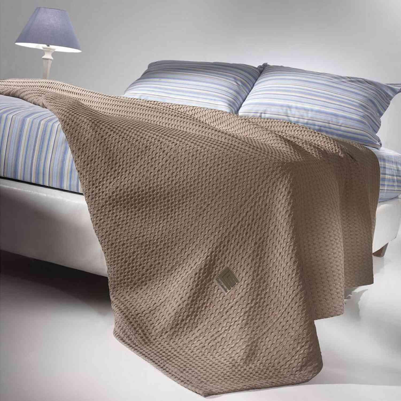 Κουβέρτα Crystal Choco Guy Laroche Υπέρδιπλo 230x260cm