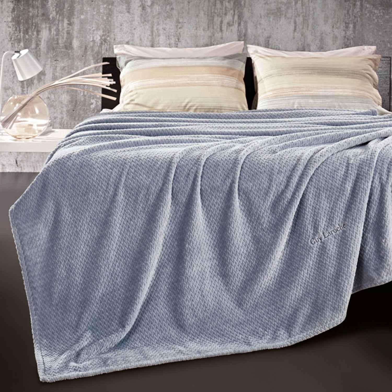 Κουβέρτα Rombus Sky Guy Laroche Μονό 160x220cm