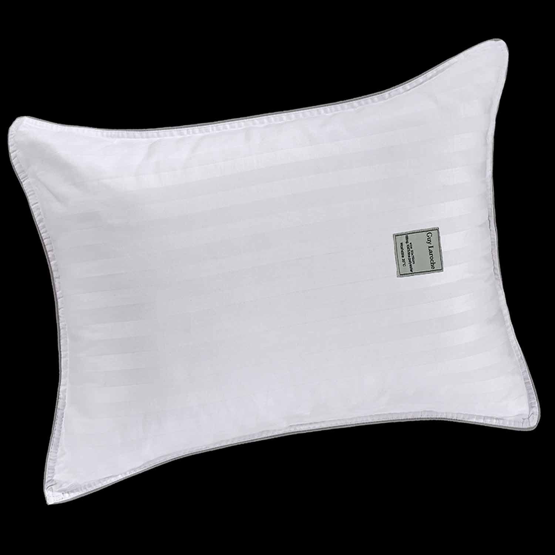 Μαξιλάρι Ύπνου Βαμβάκι-Polyester White Guy Laroche 50Χ70
