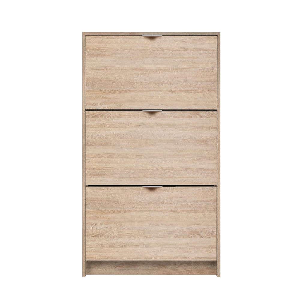 Παπουτσοθήκη Με 3 Πόρτες Huge 10-0017 67x25xH118,9cm Sonoma