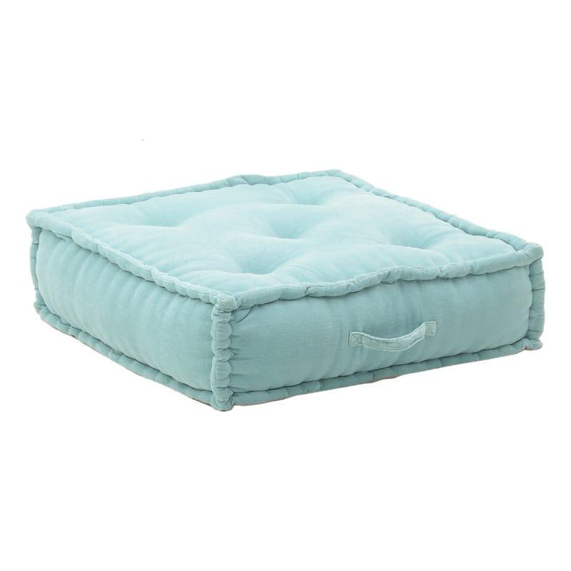 Μαξιλάρι Διακοσμητικό (Με Γέμιση) 7-40-123-0003 Pink/Light Blue Inart 60X60 100% Polyester