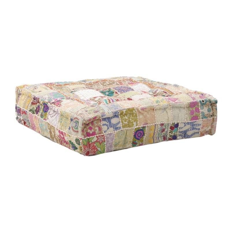 Μαξιλάρι Διακοσμητικό Δαπέδου (Με Γέμιση) 7-40-122-0009 Pink Inart 80X80 100% Polyester