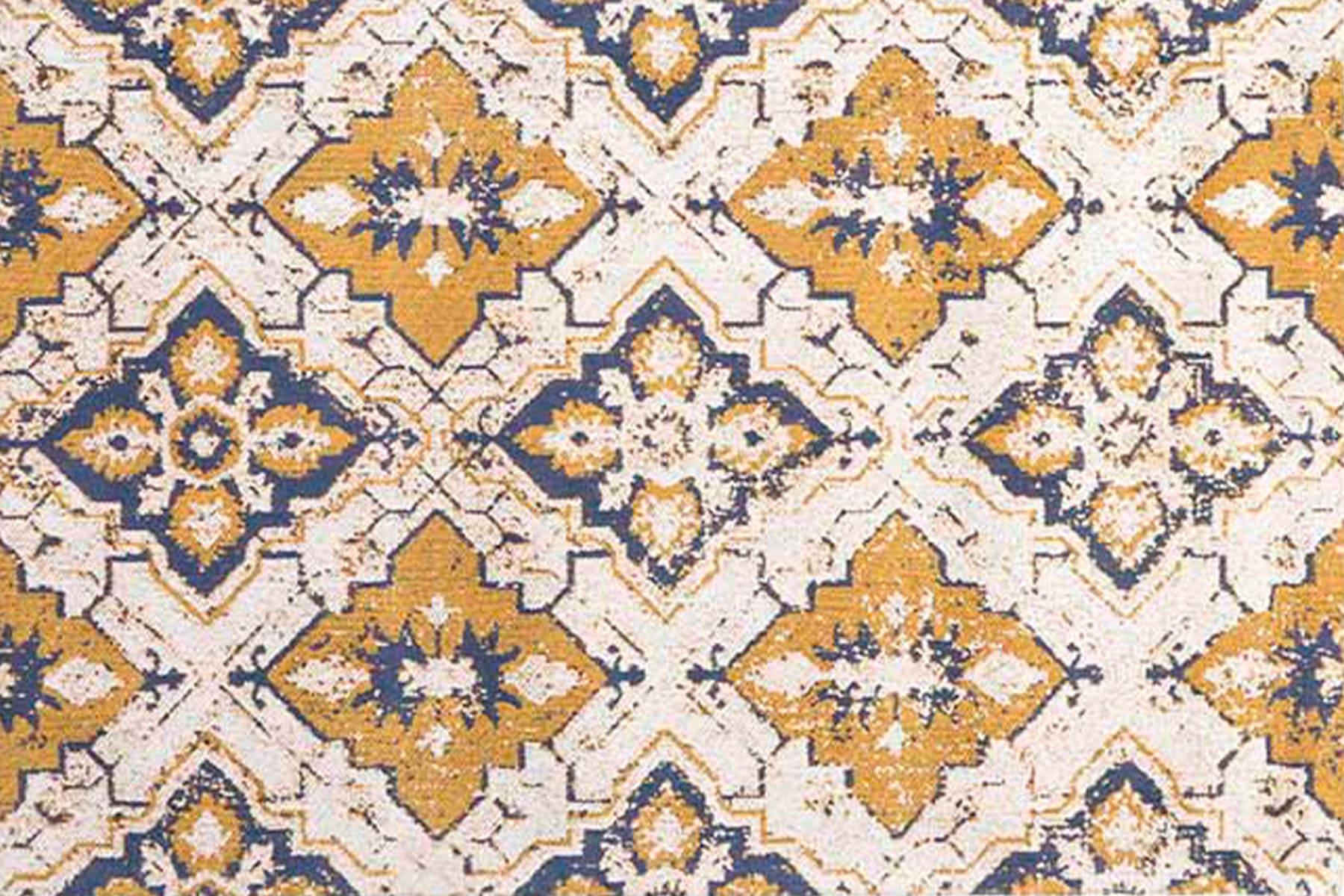 Χαλί 3-35-419-0074 Yellow-White Inart 100X200
