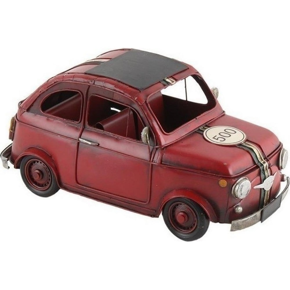 Διακοσμητικό Επιτραπέζιο Αυτοκίνητο 3-70-726-0094 Red Inart Μέταλλο