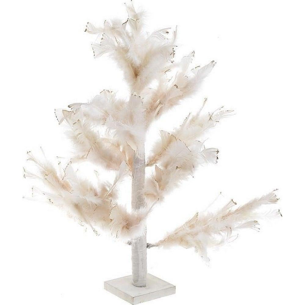 Διακοσμητικό Επιτραπέζιο 3-70-530-0031 Δέντρο Με Φτερά Ecru 50Χ50Χ65 Inart Polyresin