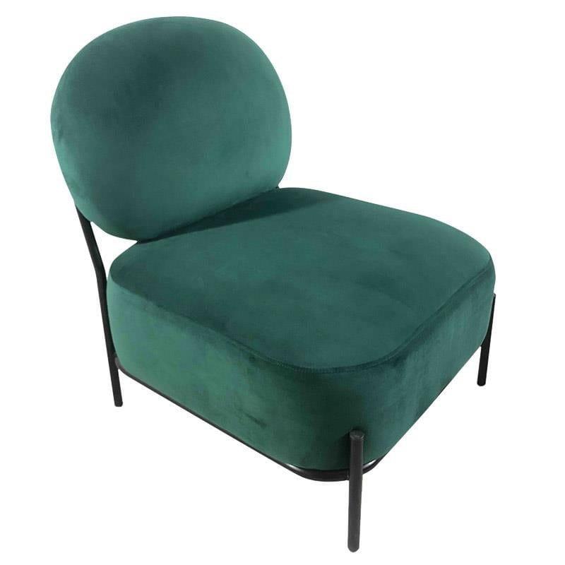 Πολυθρόνα Βελούδινη 57Χ62Χ78 Green 3-50-104-0397 Inart