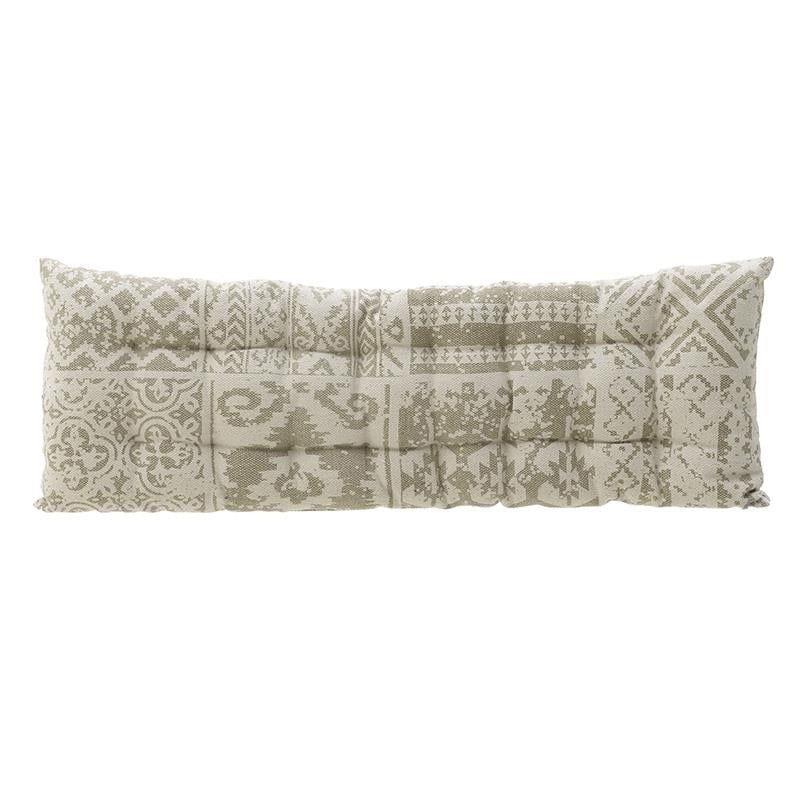 Διακοσμητικό Μαξιλάρι Δαπέδου (Με Γέμιση) 3-40-803-0223 Ecru Inart 50X115 100% Βαμβάκι
