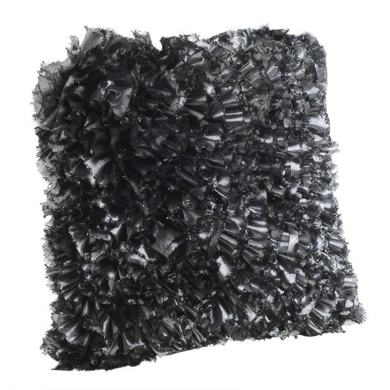 Μαξιλάρι Διακοσμητικό (Με Γέμιση) 3-40-947-0008 Silver Inart 45X45 Ύφασμα