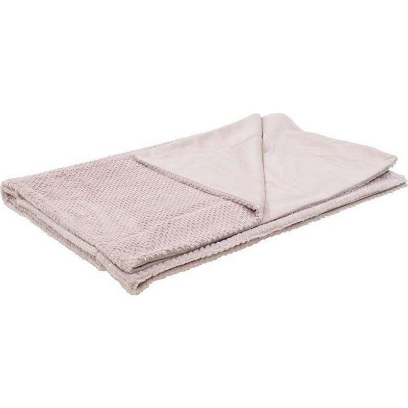 Ριχτάρι Συνθετική Γούνα 3-40-575-0420 Pink Inart Πολυθρόνα 150x180cm