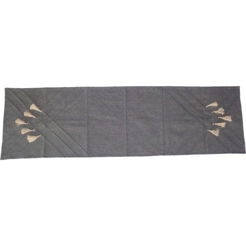 Τραβέρσα 3-40-803-0225 Grey Inart 40Χ150 40x140cm
