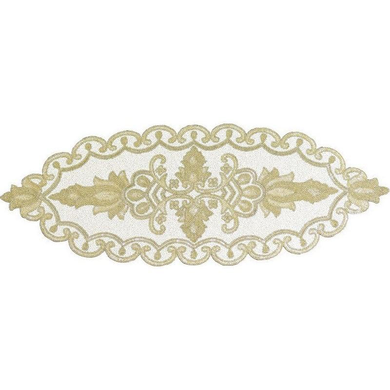Τραβέρσα 3-40-946-0002 Gold Inart 30Χ150 33x90cm
