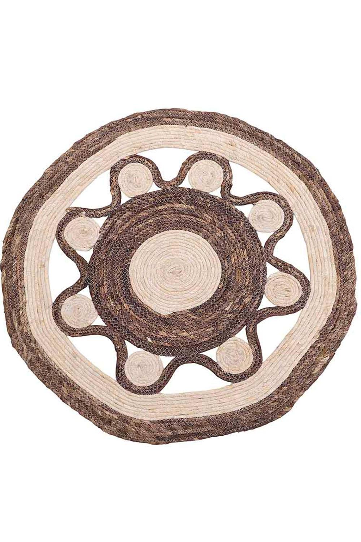 Χαλί Ψάθινο 3-35-367-0004 Natural-Beige Inart 70X150