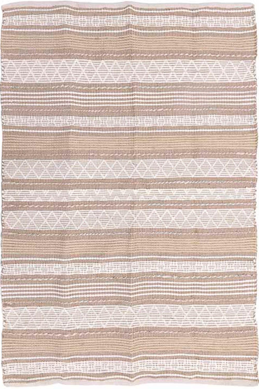 Χαλί 3-35-485-0085 White-Beige Inart 100X200