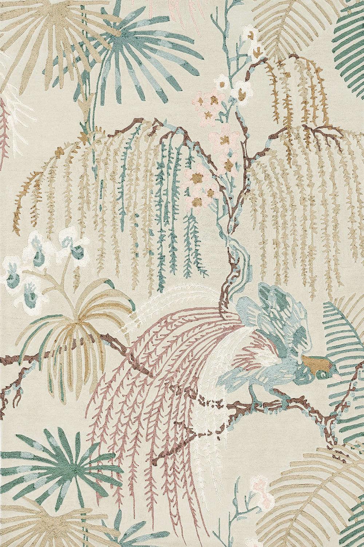 Χαλί Rain Forest Orchid Grey 050701 Sanderson 200X300