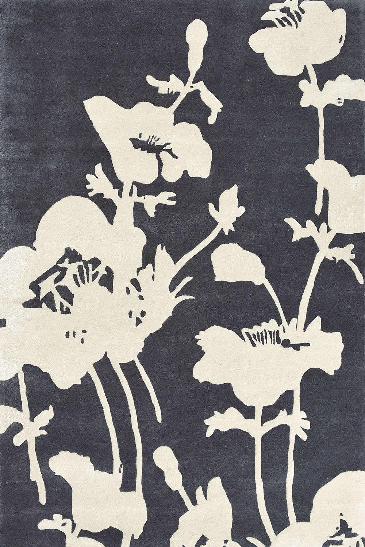 Χαλί Floral 300 Charcoal 039604 Florence Broadhurst 200X300
