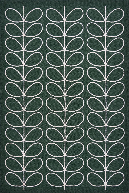 Χαλί Linear Stem 460507 Emerald Orla Kiely 140X200
