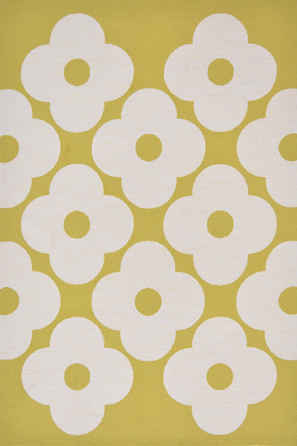 Χαλί Spot Flower 460806 Yellow-White Orla Kiely 140X200