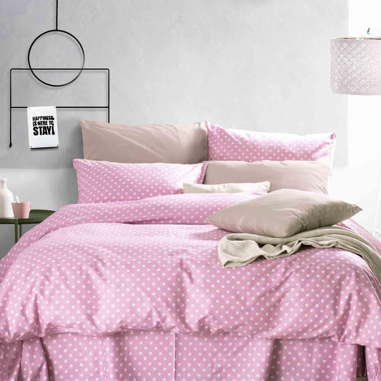 Κουβερλί Σετ Sassy Pink Ρυθμός Ημίδιπλο 160x240cm