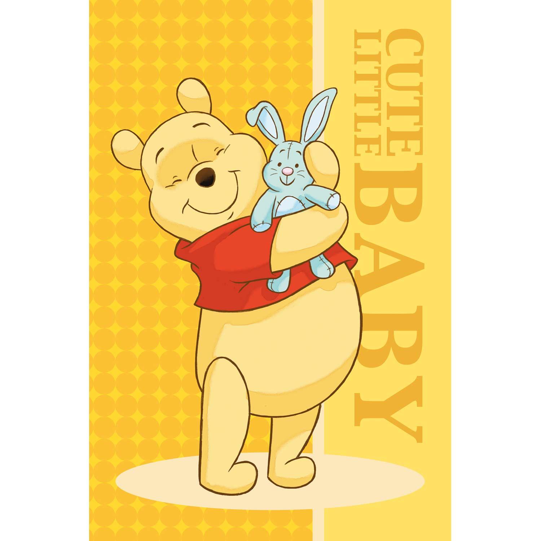 Πετσέτα Παιδική Winnie 10 Yellow Viopros Προσώπου 40x60cm