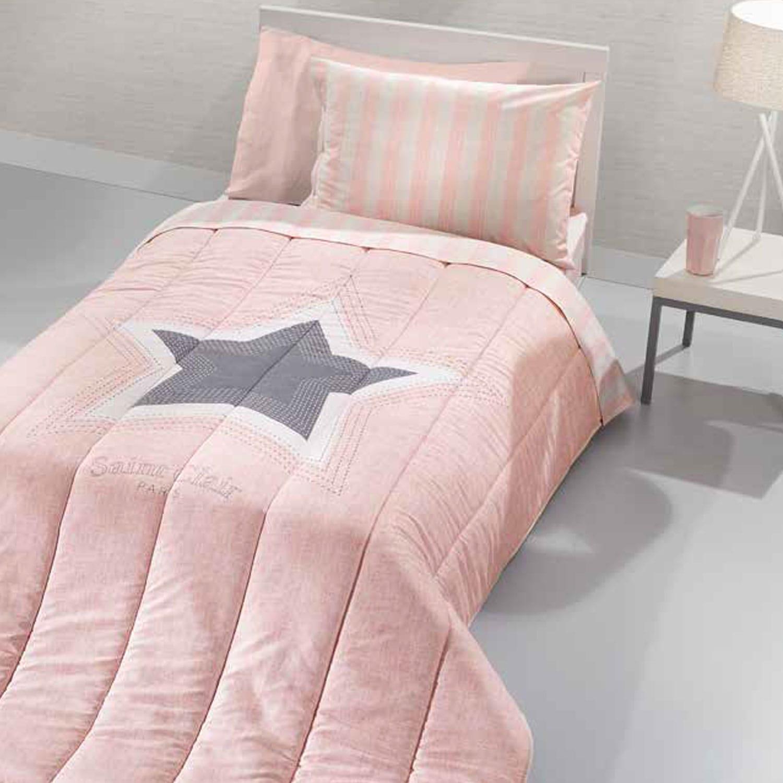 Κουβερλί Παιδικό Pirineo Pink Saint Clair Μονό 160x230cm