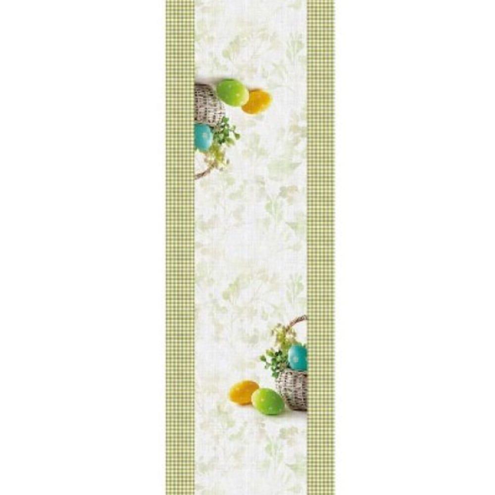 Τραβέρσα Easter 08 White-Green Saint Clair 40Χ150