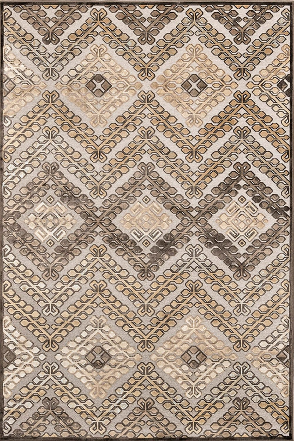 Χαλί Vintage 689/485310 – Beige New Plan 70X150