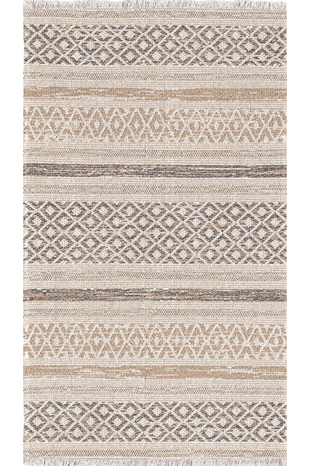 Χαλι Kasbah 3023/605 – Beige-Brown New Plan 70X220