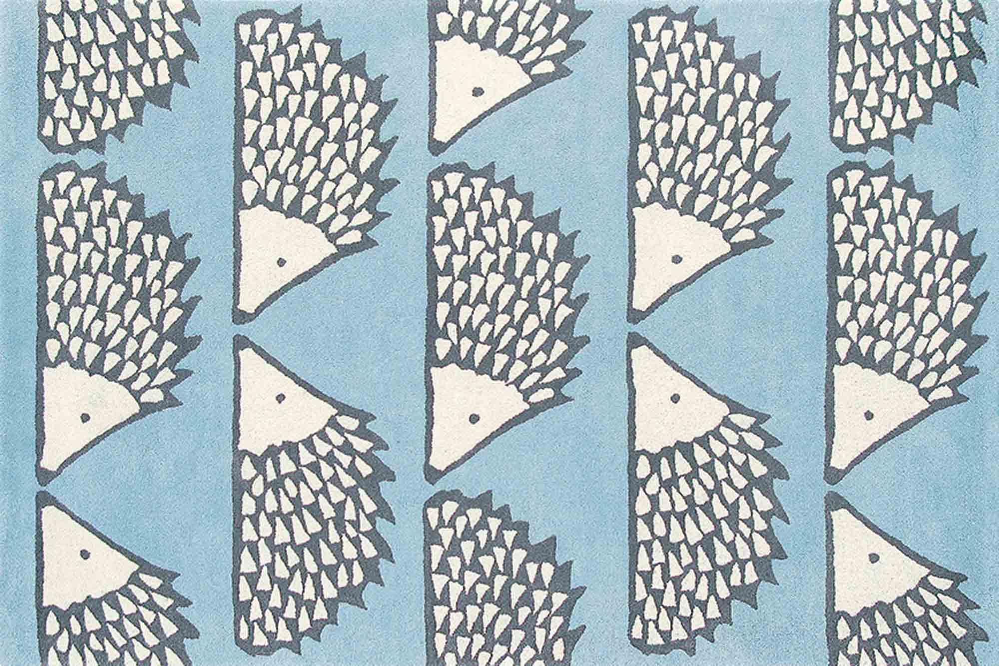 Χαλί Spike 26808 Blue Scion 70X150