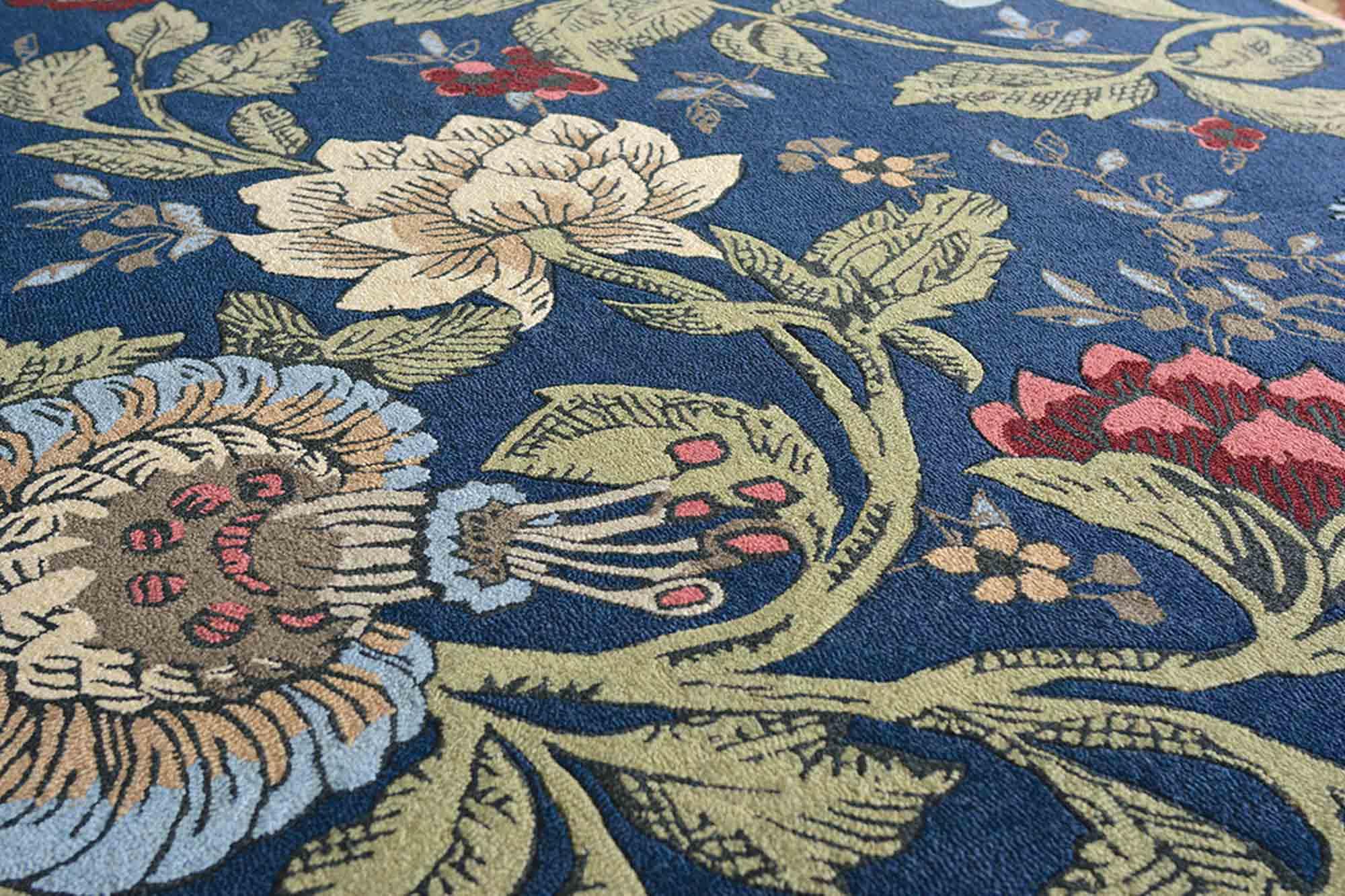 Χαλί Passion Flower 37118 Wedgwood 140X200