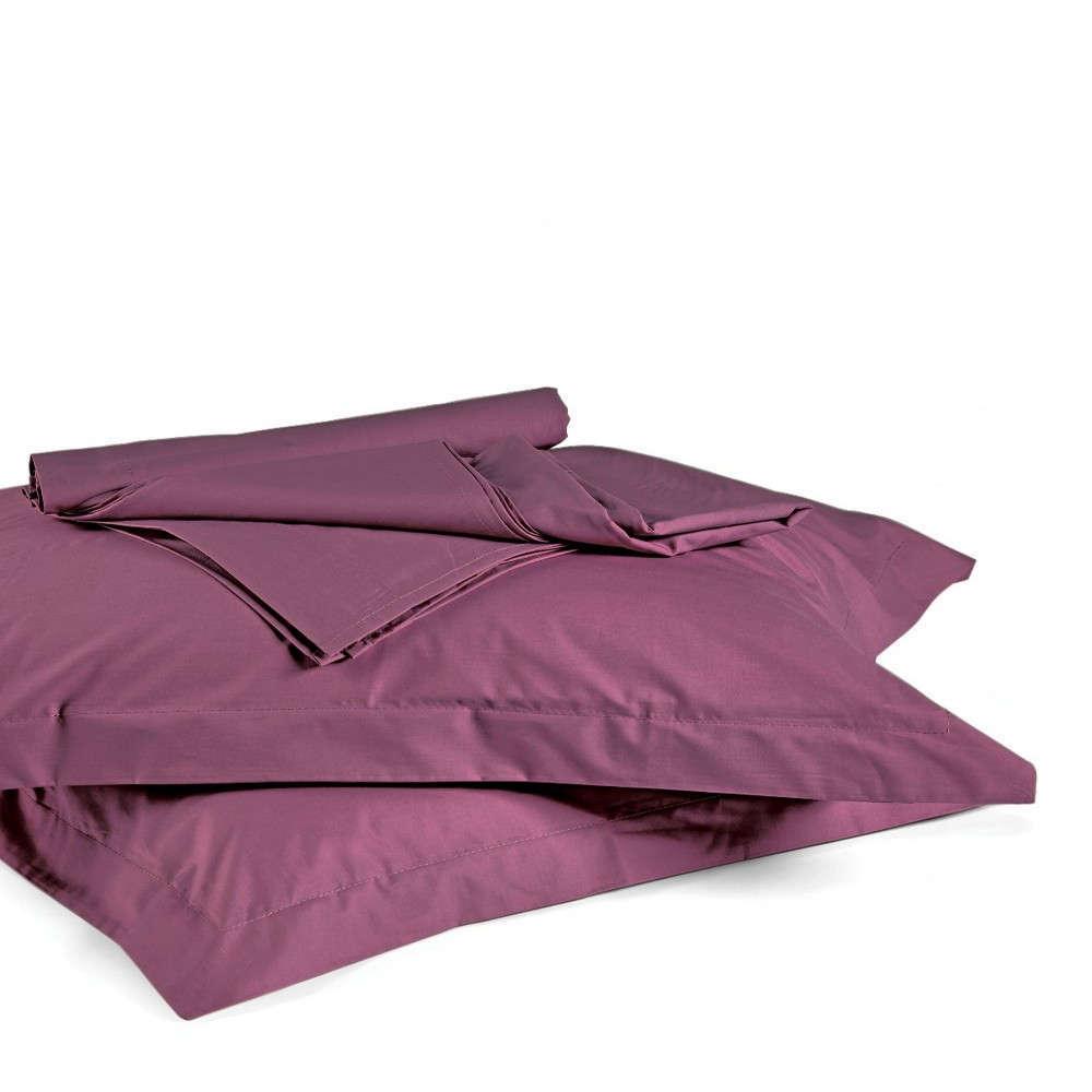 Σεντόνι True Col 0501 Με Λάστιχο Purple Kentia Υπέρδιπλo 160x225cm