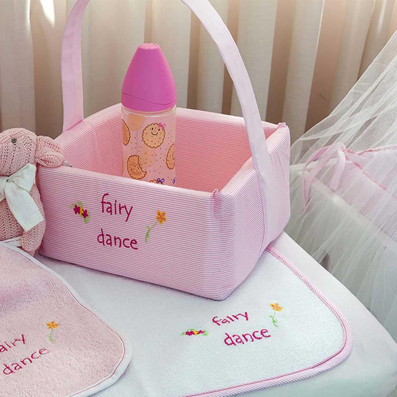 Καλαθάκι Καλλυντικών Des.307 Fairy Dance Pink Baby Oliver