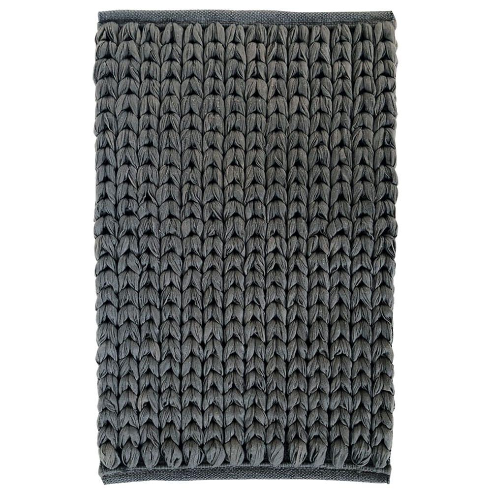 Πατάκι Μπάνιου Chain 05593.001 Grey Medium 50x80cm