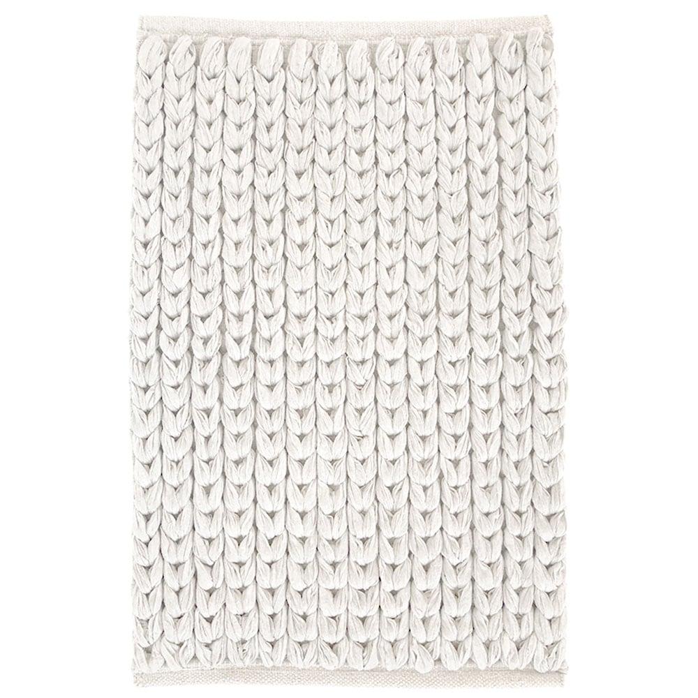 Πατάκι Μπάνιου Chain 05593.002 White Medium 50x80cm