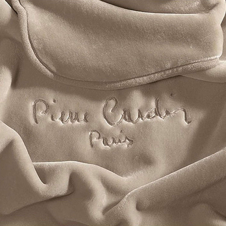 Κουβέρτα Nancy 545 Taupe Pierre Cardin Υπέρδιπλo 220x240cm