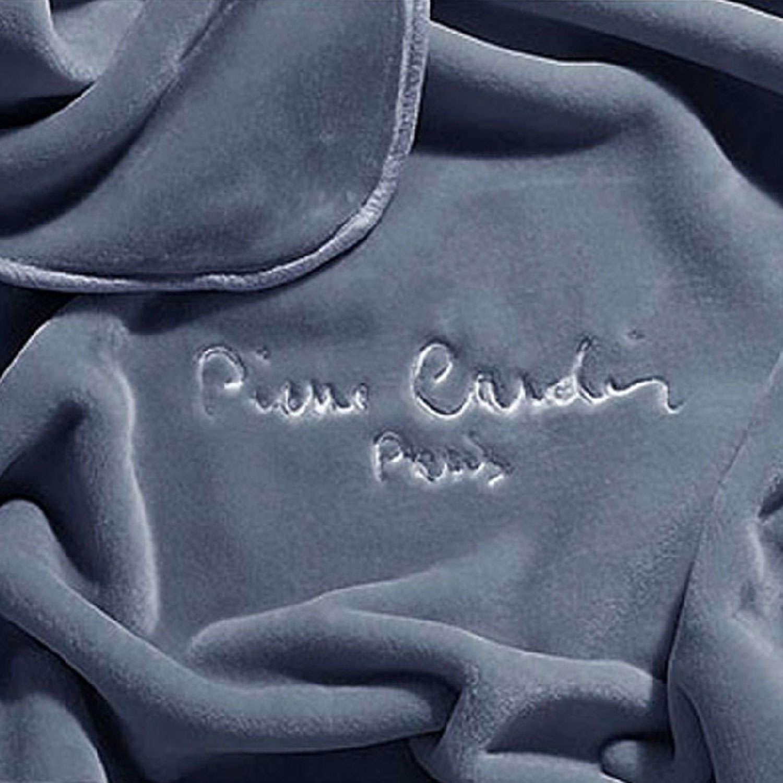 Κουβέρτα Nancy 545 Anthracite Pierre Cardin Μονό 160x240cm