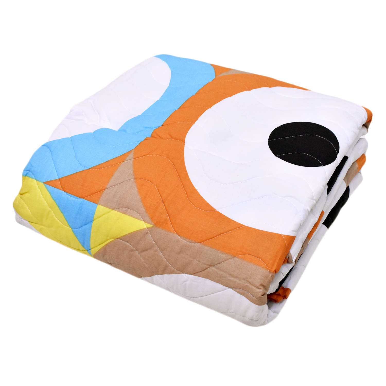 Κουβερλί Centres 32187 Orange Benetton Υπέρδιπλo 220x240cm