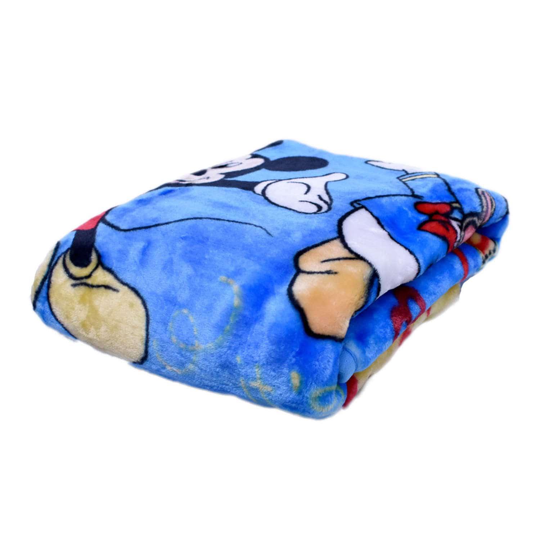 Κουβέρτα Βρεφική Mickey Disney Αγκαλιάς 90x120cm