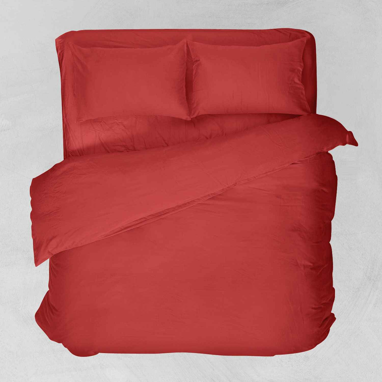 Πάπλωμα Basic Κόκκινο Viopros Μονό 160x240cm