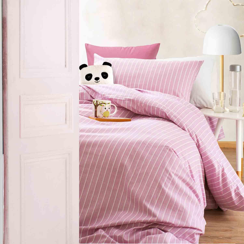 Κουβερλί Σετ 2τμχ. Παιδικό Granada Pink Ρυθμός Μονό 160x240cm