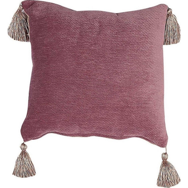 Διακοσμητικό Μαξιλάρι Living Tanger Amethyst-Beige (Με Γέμιση) Nef-Nef 45X45 100% Polyester