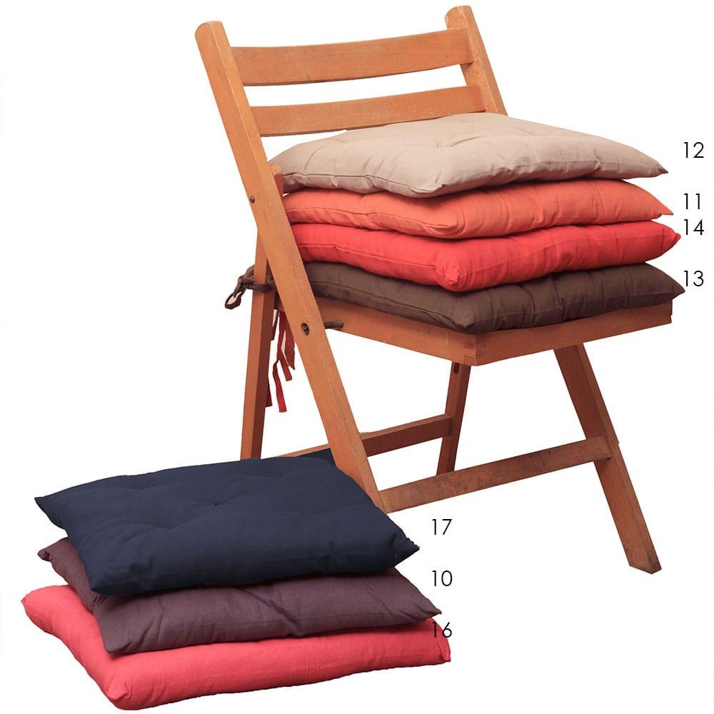 Μαξιλάρι Καρέκλας 583-14 Cherry Viopros 40Χ40 40x40cm