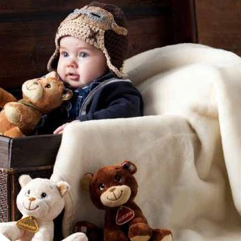 Κουβέρτα Βρεφική Baby Opera c03 Beige Manterol Κούνιας 110x140cm