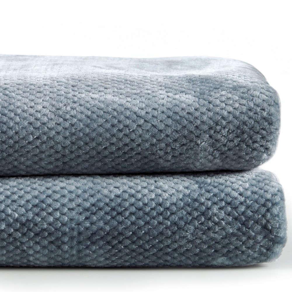 Κουβέρτα Bella 01 Blue Kentia Υπέρδιπλo 220x240cm