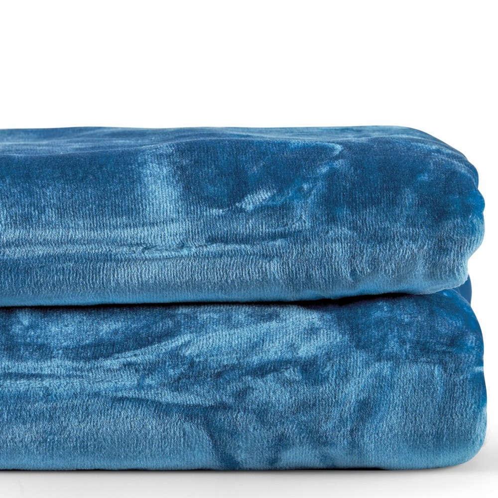 Κουβέρτα Notte 01 Blue Kentia Υπέρδιπλo 220x240cm