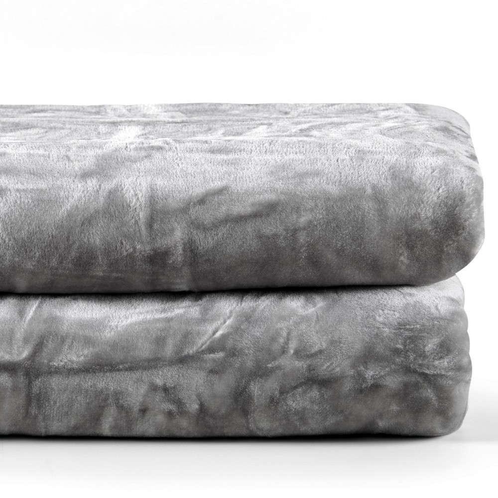 Κουβέρτα Notte 22 Light Grey Kentia Υπέρδιπλo 220x240cm