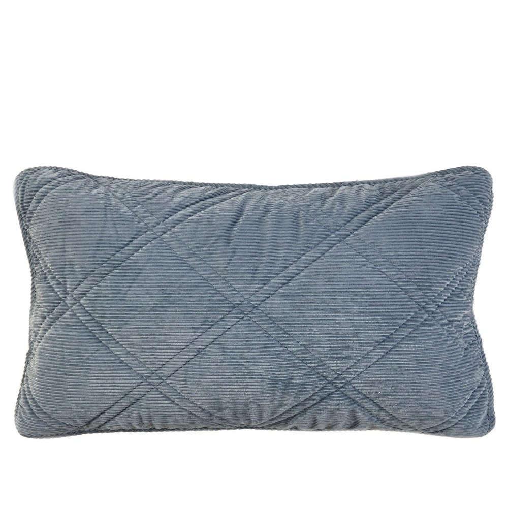 Μαξιλαροθήκη Διακοσμητική Inferno 01 Blue Kentia 50Χ70 Βαμβάκι-Polyester