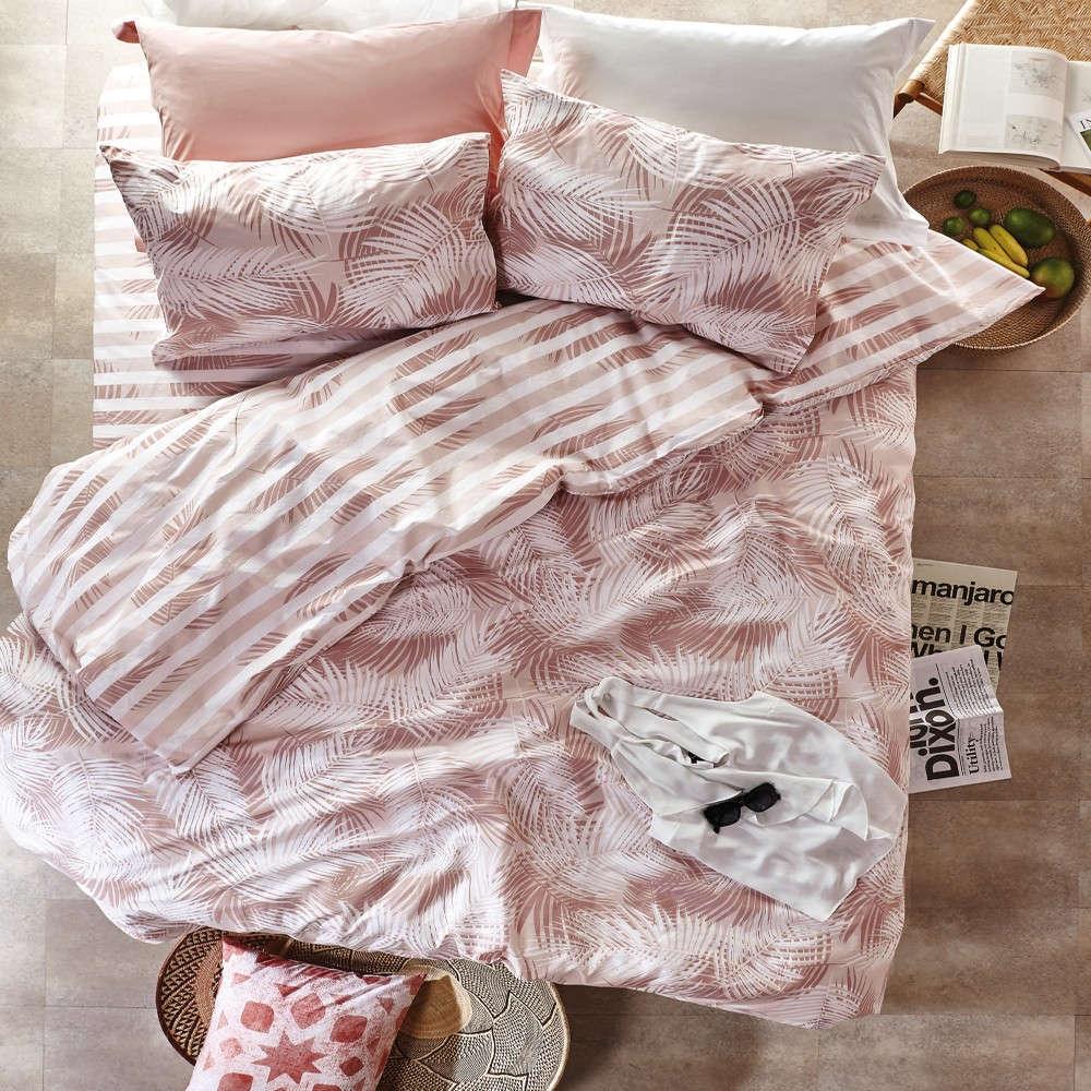 Πάπλωμα Casablanca 18 Pink Kentia Υπέρδιπλo 220x240cm
